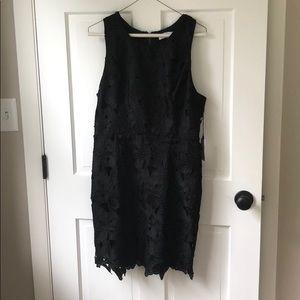 ASTR XL Black Cocktail Dress